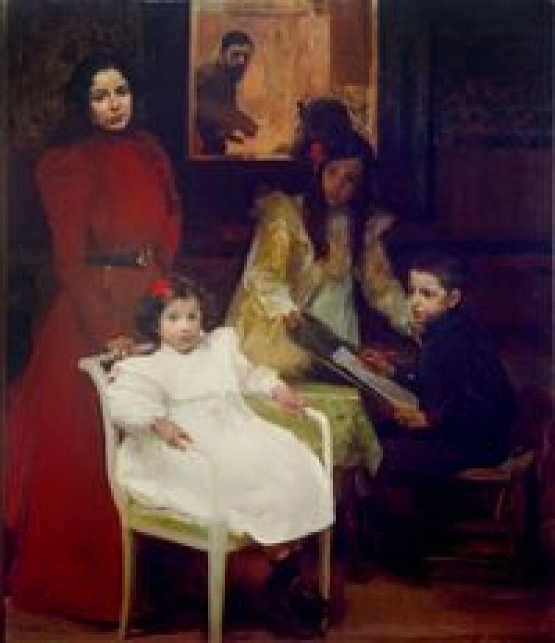 La familia © Museo Sorolla