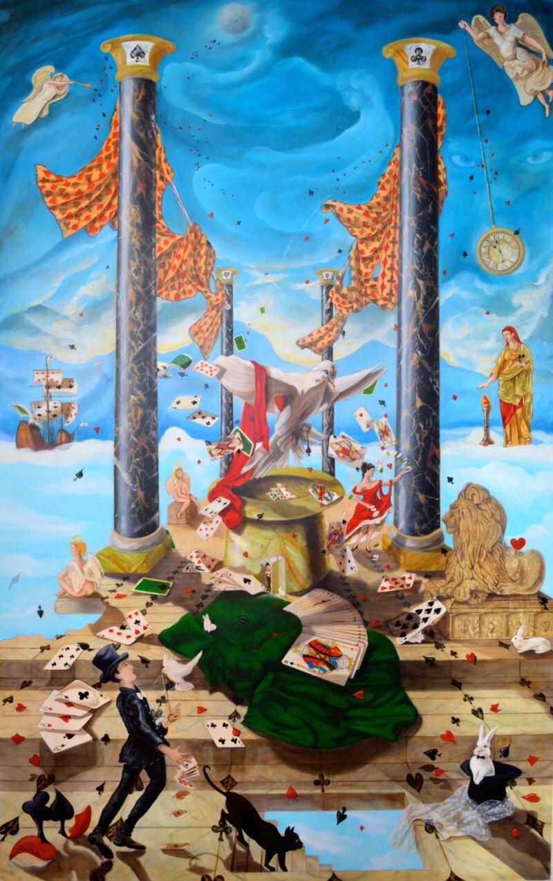 Le palais des cartes, Elen Ture