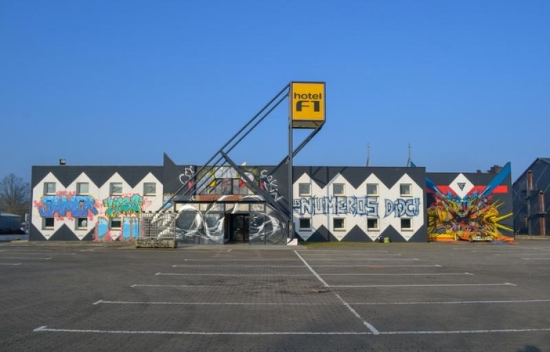 L'hôtel F1 de la Roche sur Yon reconverti en lieu d'expo éphémère - S. Billet DR