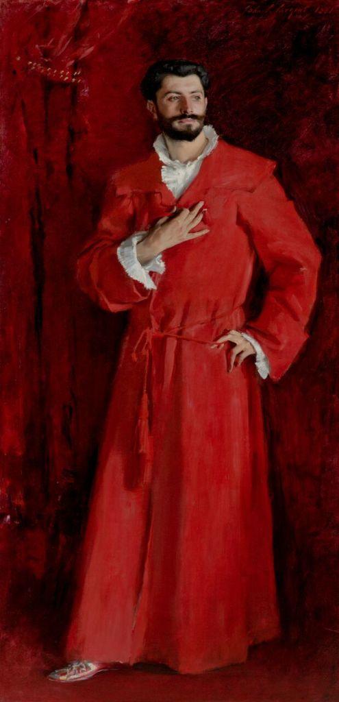 Los Angeles, The Hammer Museum_John Singer Sargent, Dr Samuel-Jean Pozzi