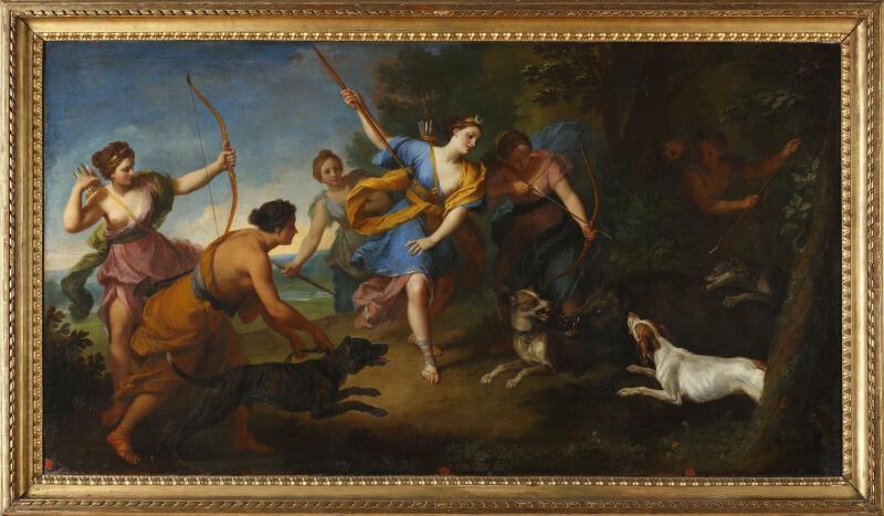 Louis de Boullogne, La Chasse de Diane, 1794 (c) Musée des Beaux-arts de Tours