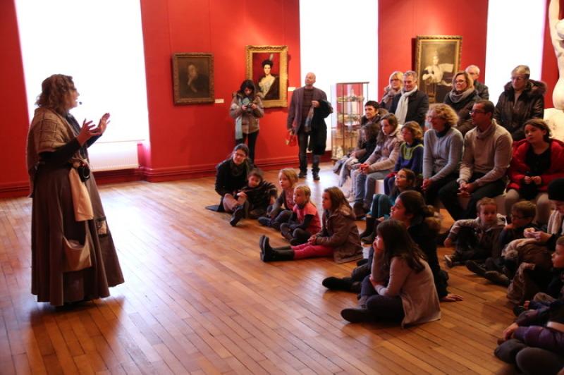Contes en peinture, Nuit des musées au Musée des beaux-arts d'Arras (c) MBA Arras. Tous droits réservés.