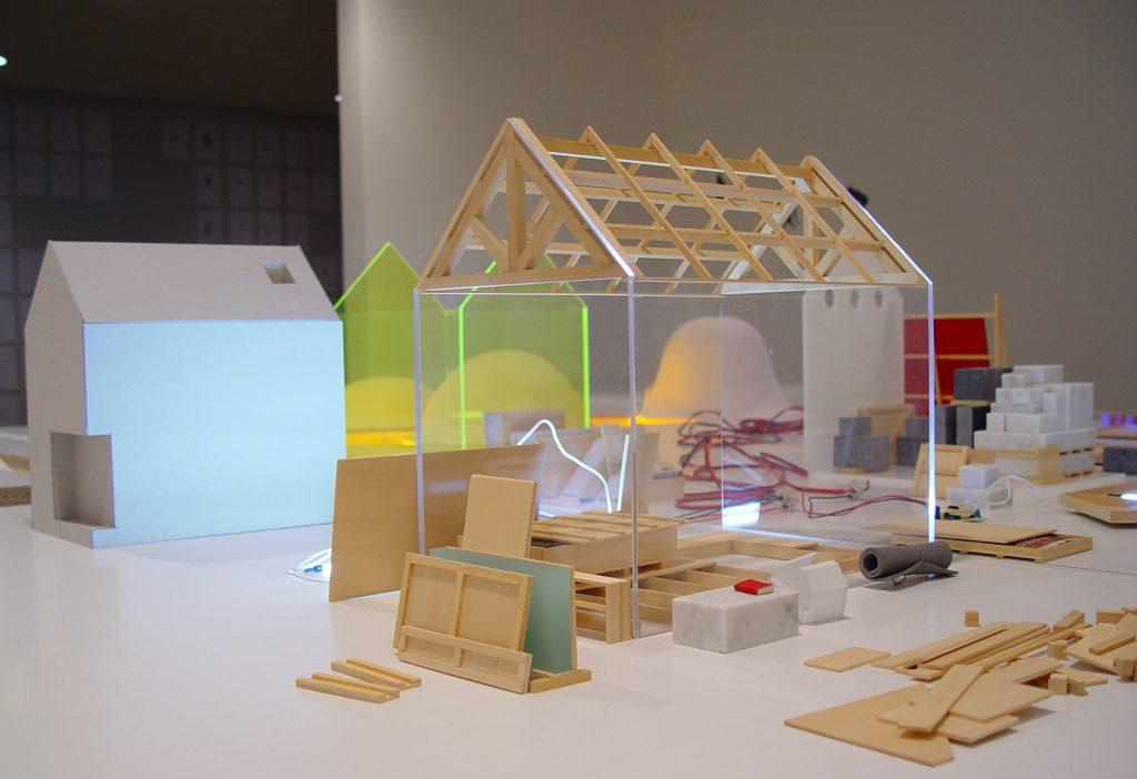 Michel Paysant Inventarium 03 – 2003, Détail des architectures de mémoire, Fonds National d'Art Contemporain