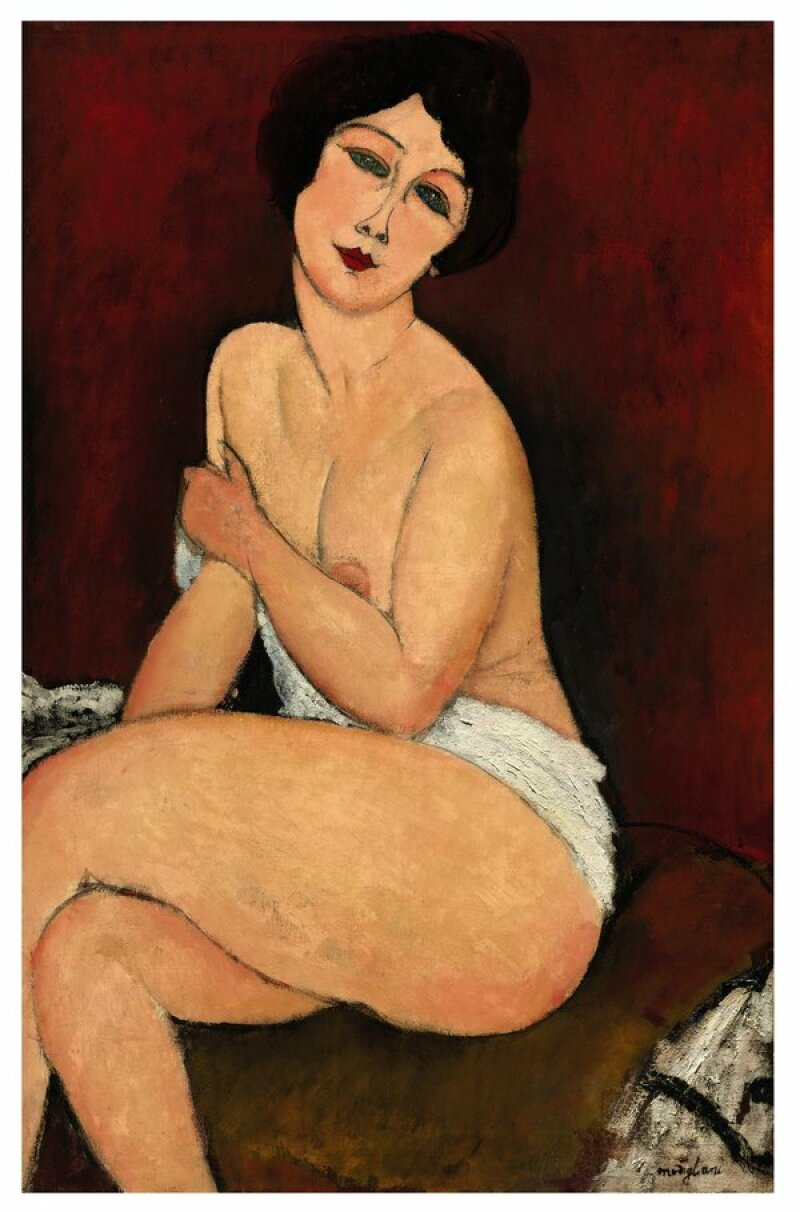 modigliani_la_belle_romaine_1917