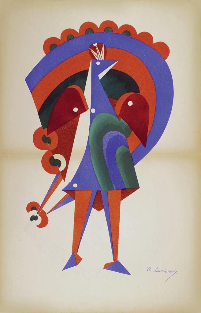 Natalia Goncharova - Mikhail Larionov. L'art décoratif théâtral moderne. 1919 Librairie ozanne