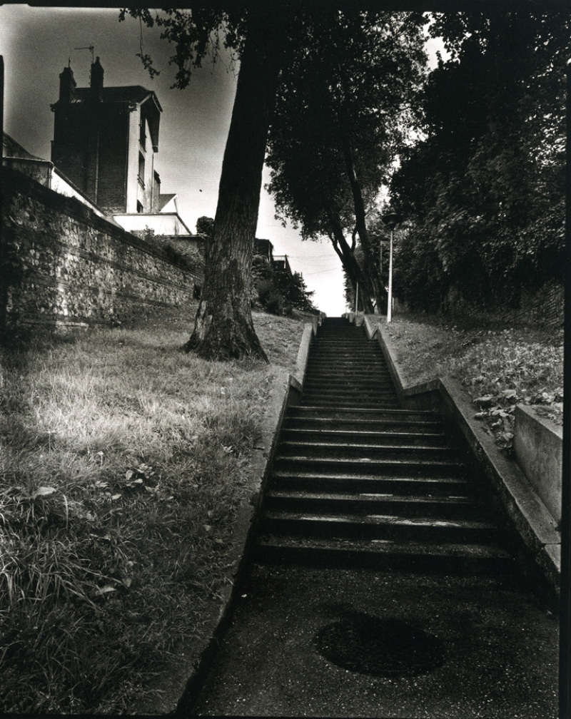 Olivier MÉRIEL (1955), Escalier noir , 2005