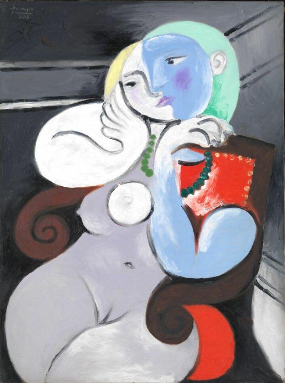 Pablo Picasso, Femme nue dans un fauteuil rouge, 1932
