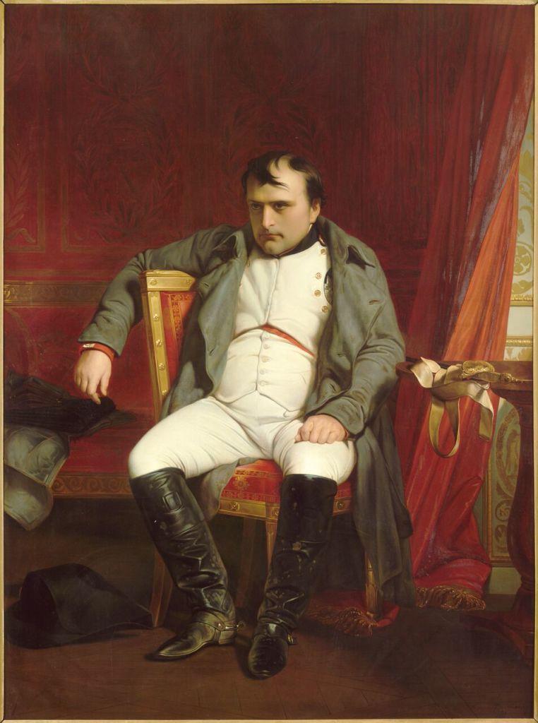 Paul Delaroche Napoléon à Fontainebleau le 31 mars 1814