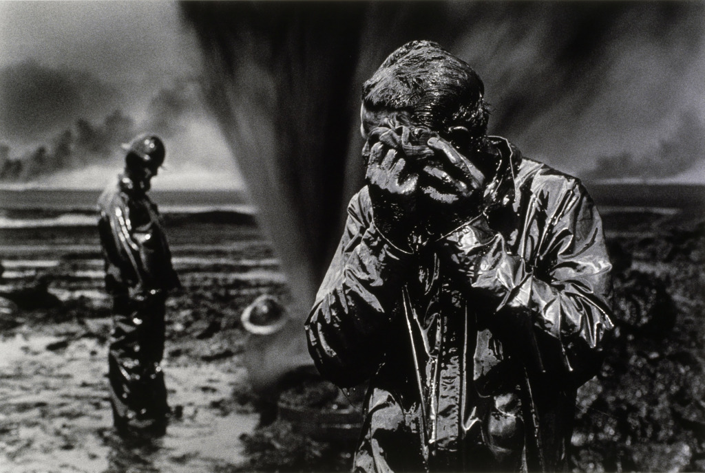 Gisement de pétrole du Grand Burhan, Koweït, 1991