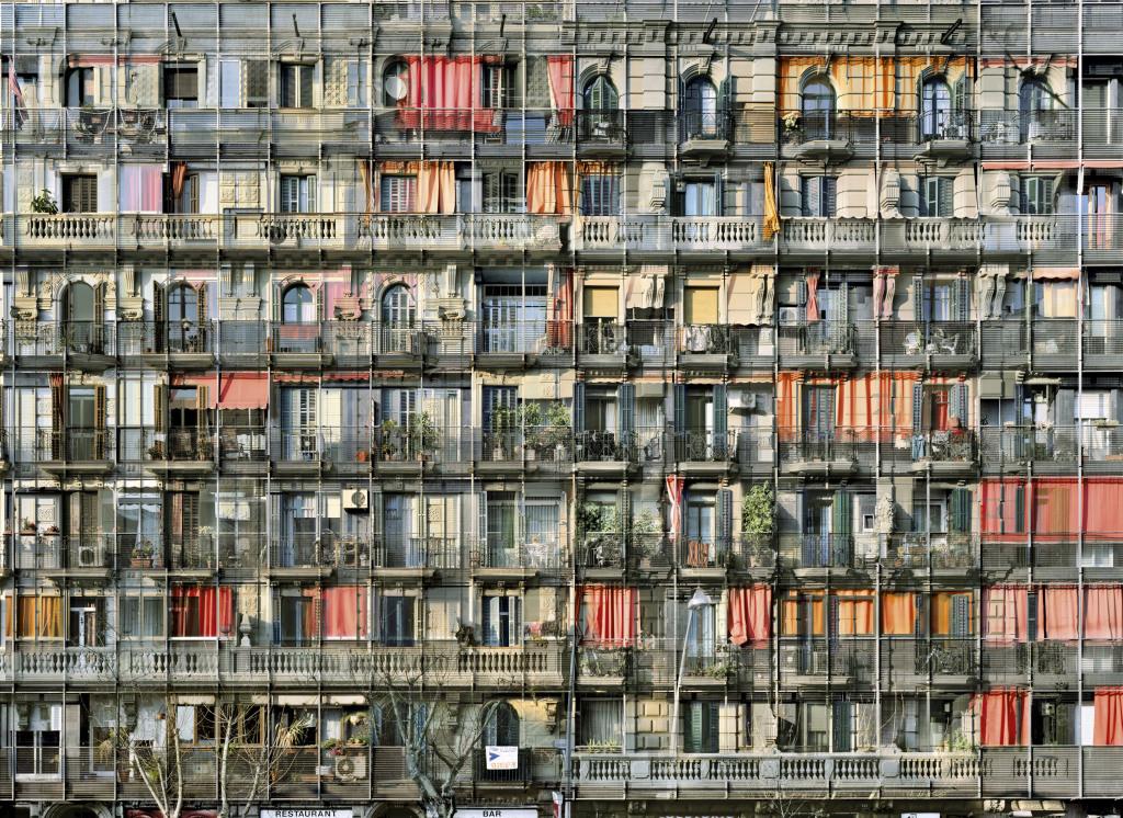 Barcelone, Avenida del Parallel n°2 , 2008 Série « Melting Point »