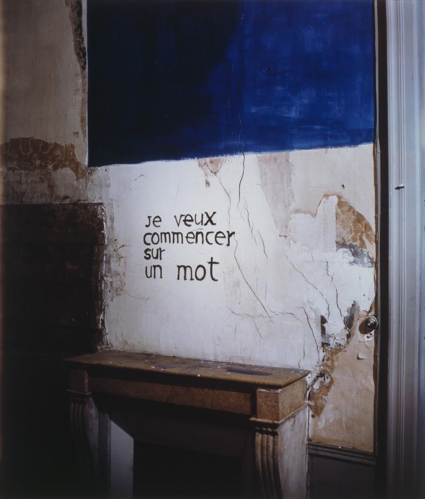 Georges Rousse Paris , 1990