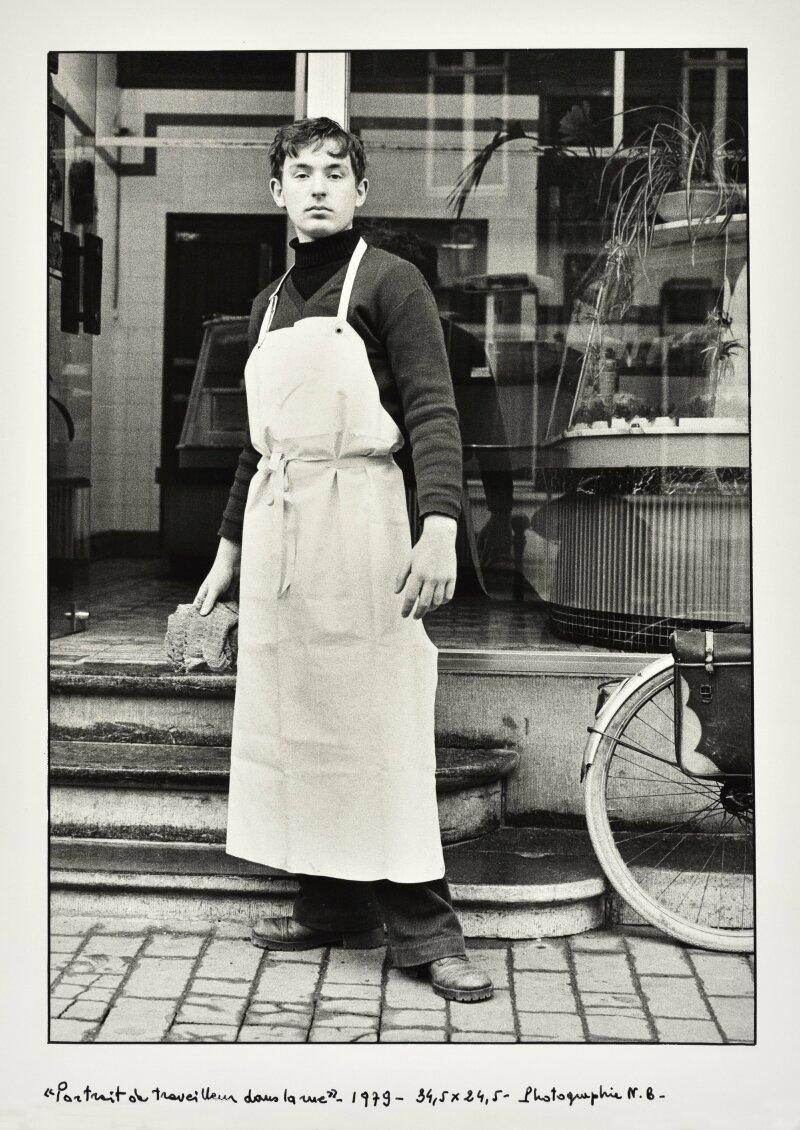 Pierre Mercier Les travailleurs dans la rue – 1978 – 1982 – collection de l'artiste