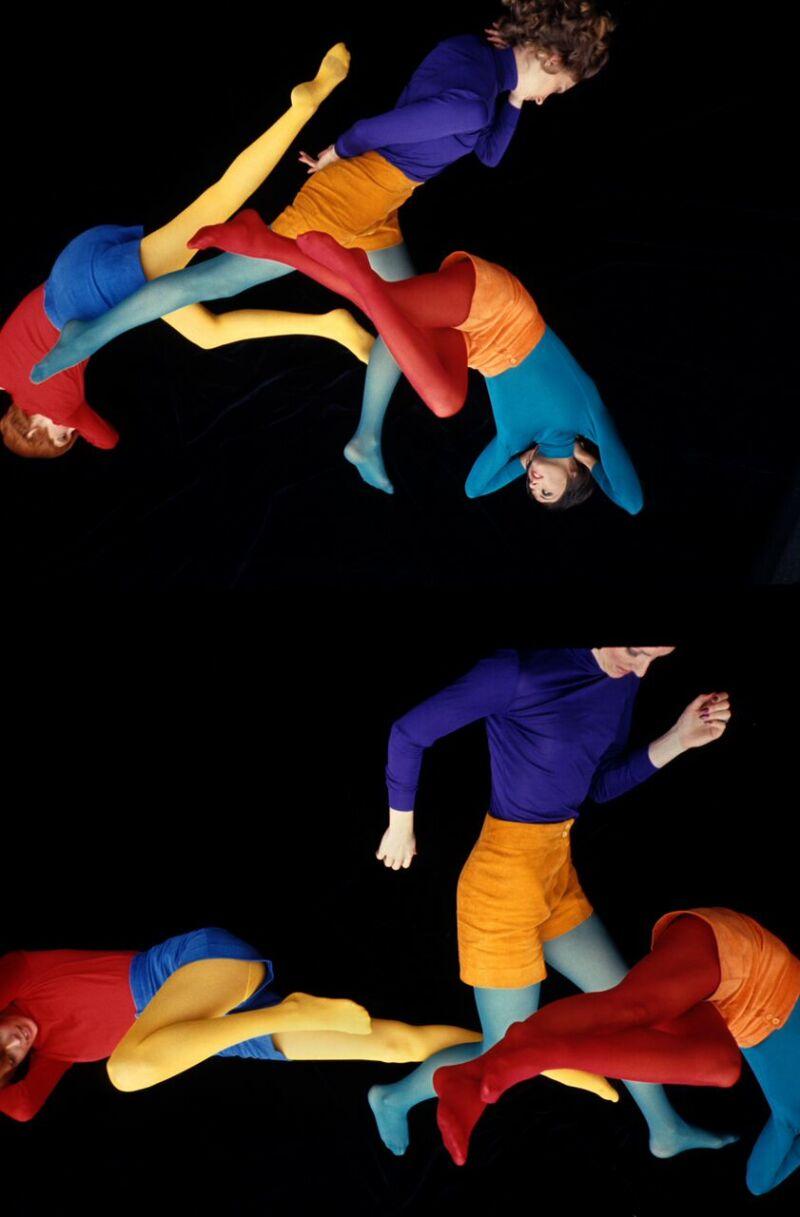Pour les collants Dim, années 1960- Copyright Peter Knapp