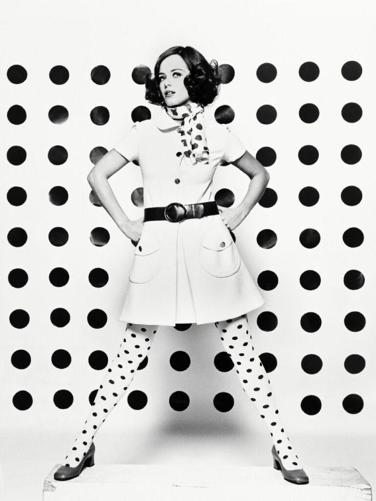 Pour Vogue, Rita Scherrer, Paris, 1967 - Copyright Peter Knapp