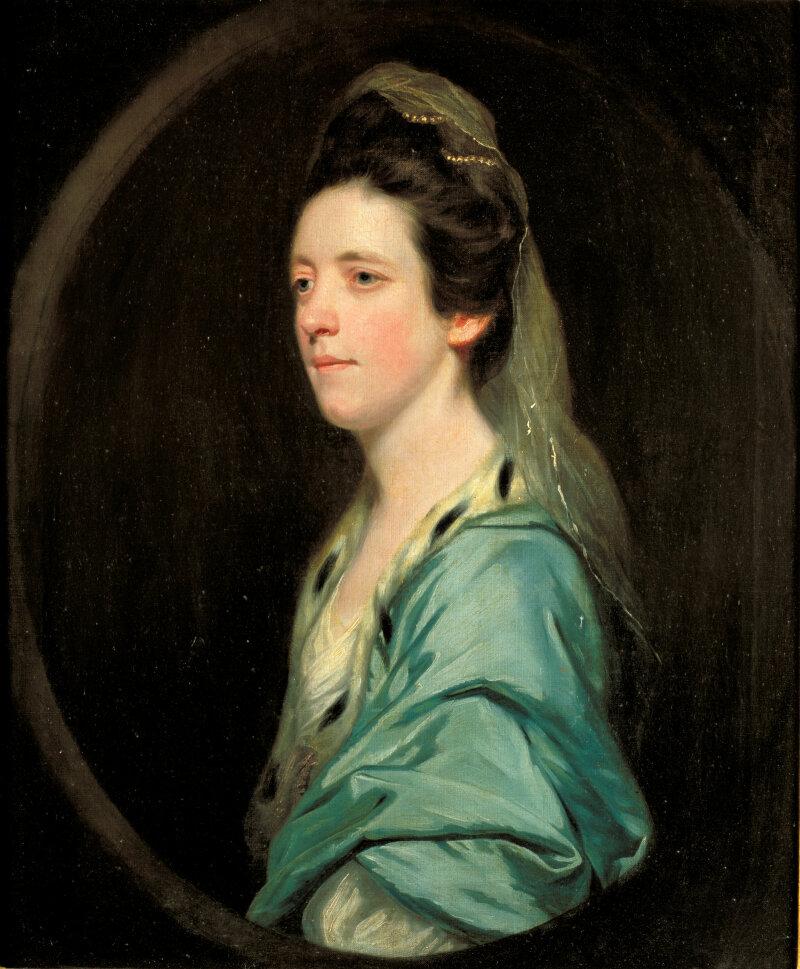 Abbaye de Flaran - Reynolds, portrait Lady MaryInnes