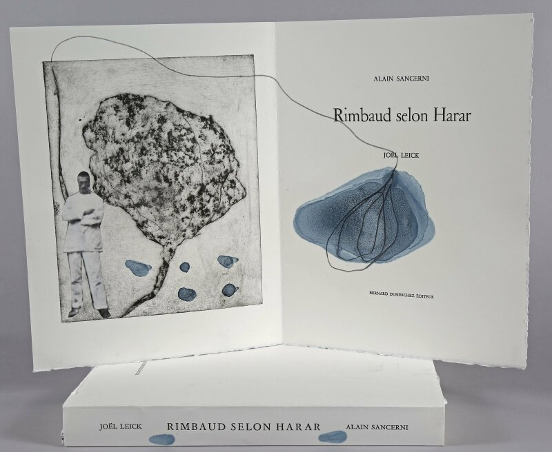 03. MUDO - Rimbaud selon Harar, Texte de Alain Sancerni, illustrations de Joël Leick éditions Dumerchez, 2016 © Alain Ruin