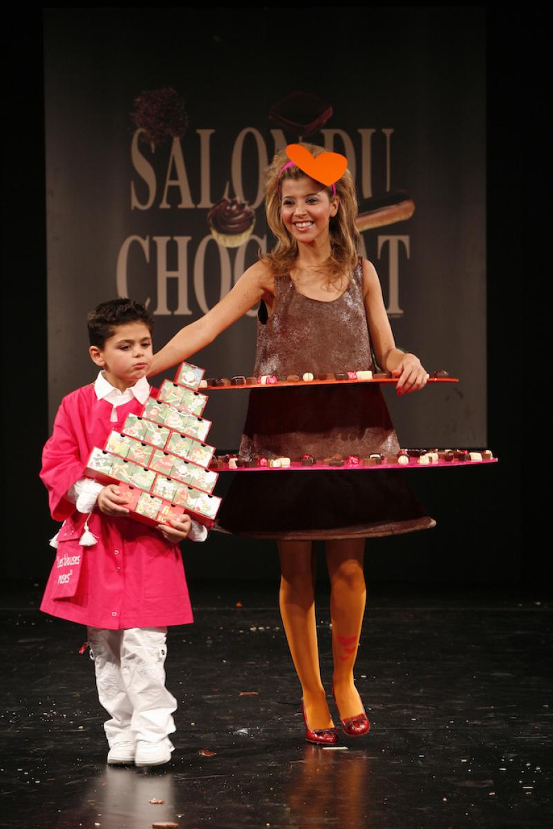 Salon du Chocolat défilé