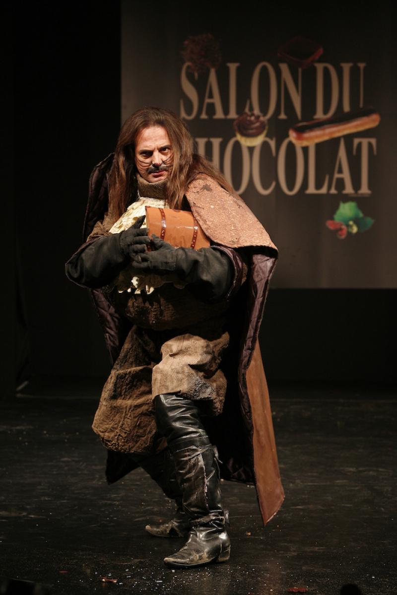 Salon du Chocolat défilé Lalane