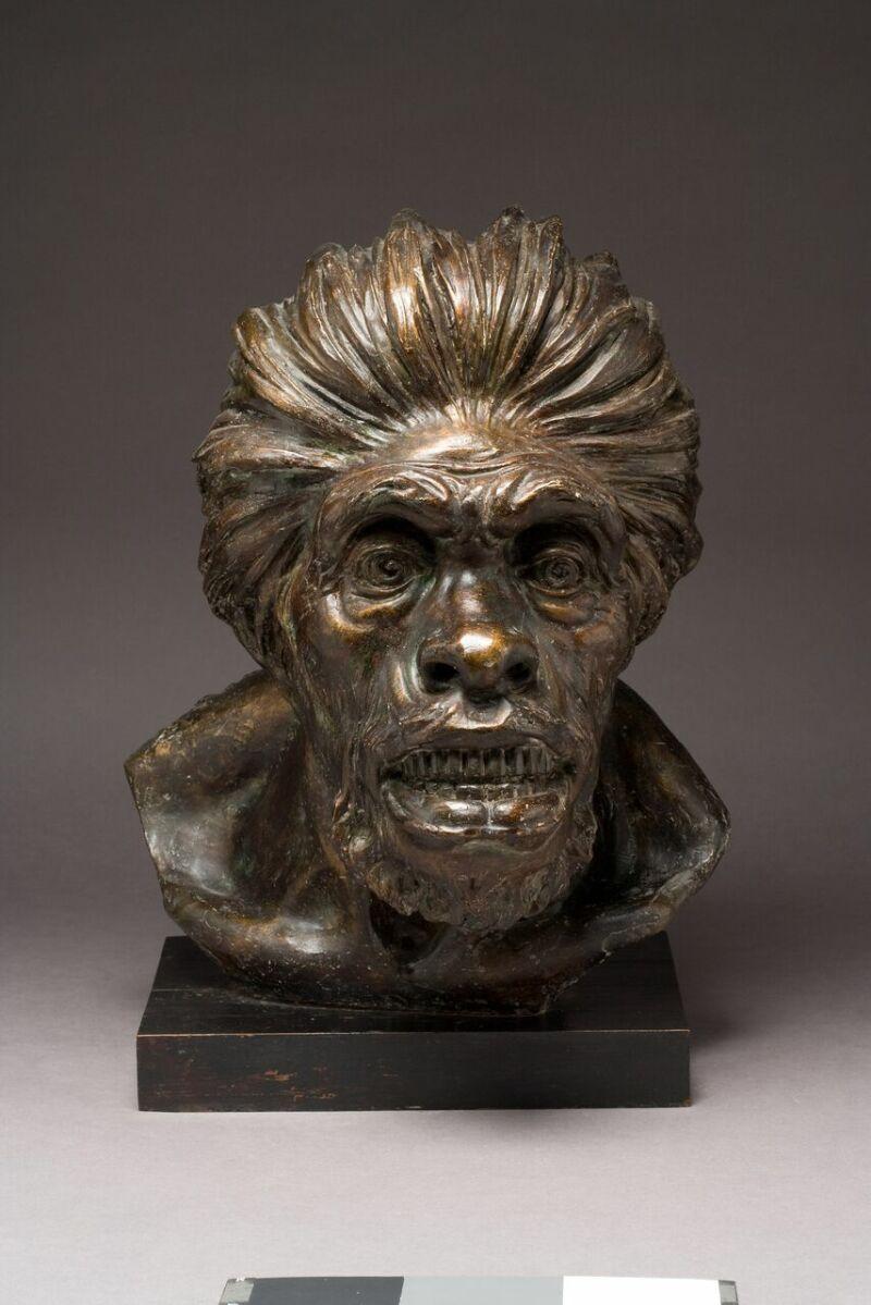 Sculpture de N. Montecucco, 1909