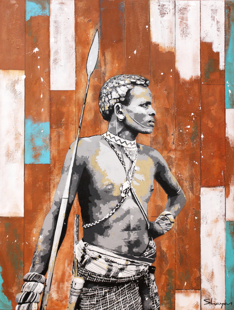 Shayan, Guerrier Maasaï