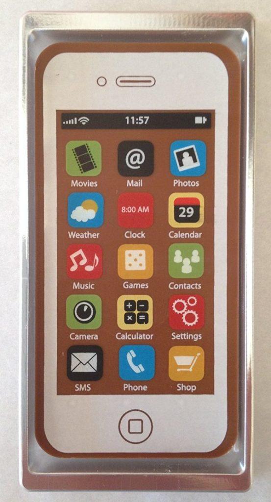 Smartphone chocolat