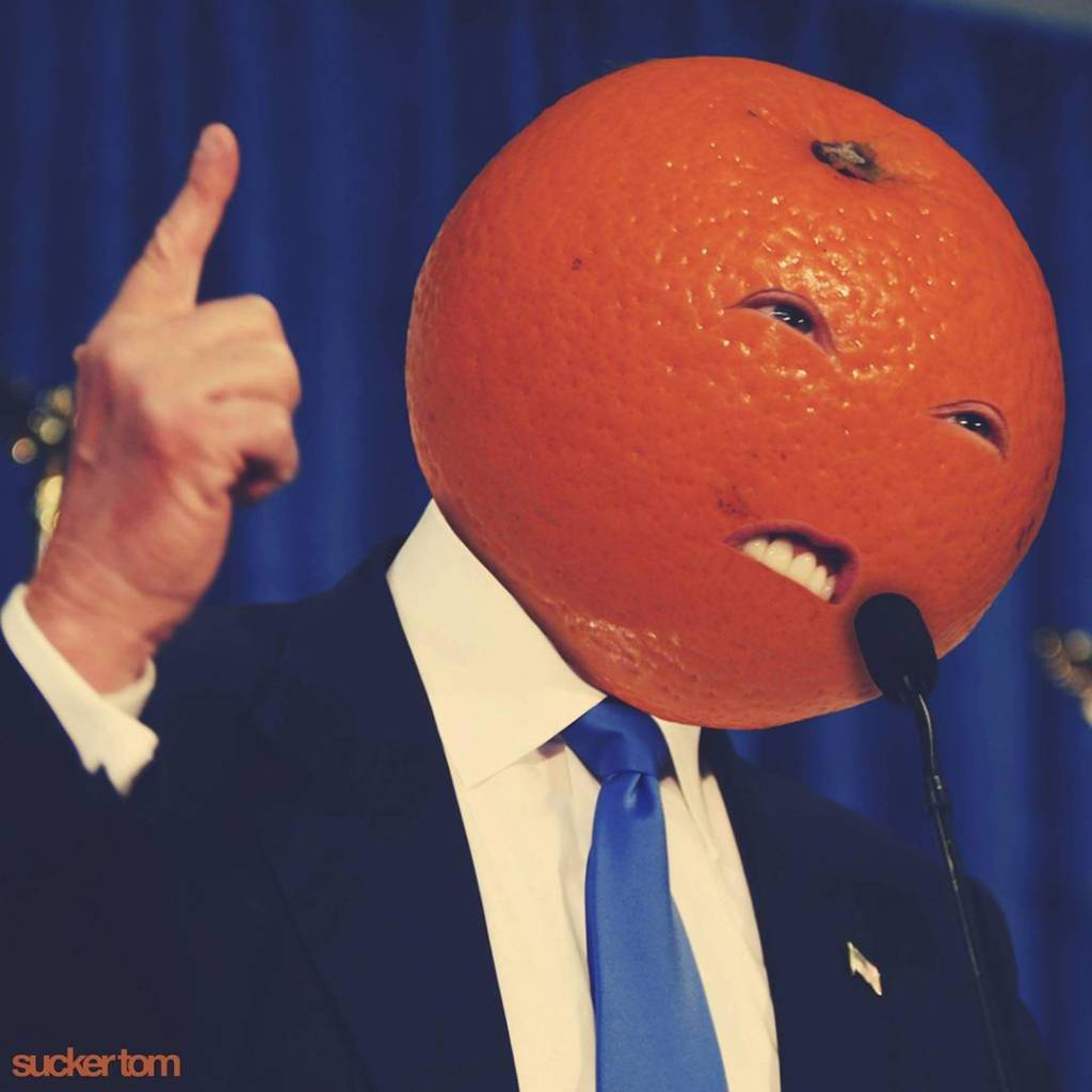 © SuckerTom - Orange Donald Trump
