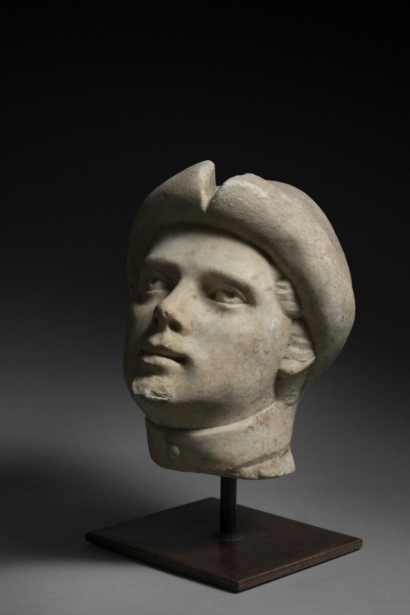 Tàte en marbre de carrare, XVIème siècle - Alexandre Piatti, expert en Haute Epoque