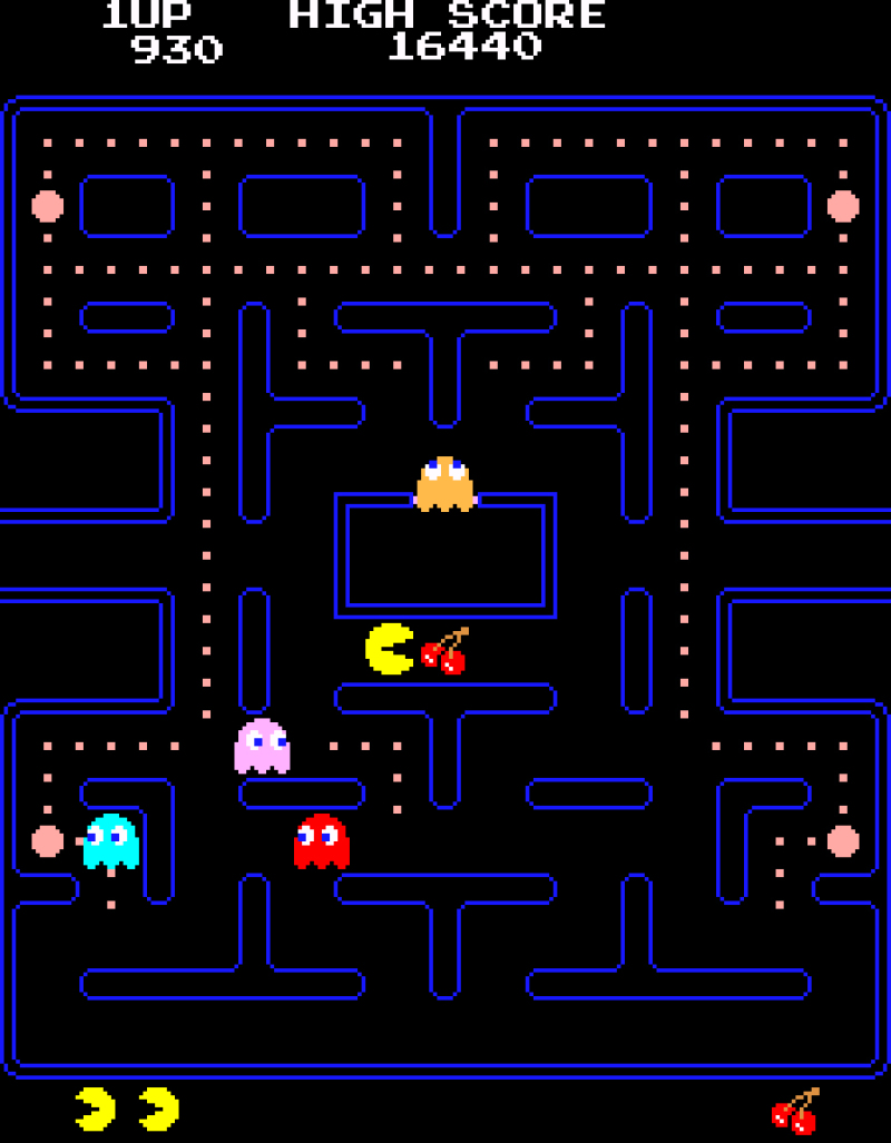 Toru Iwatani. Pac-Man. 1980 © MoMA