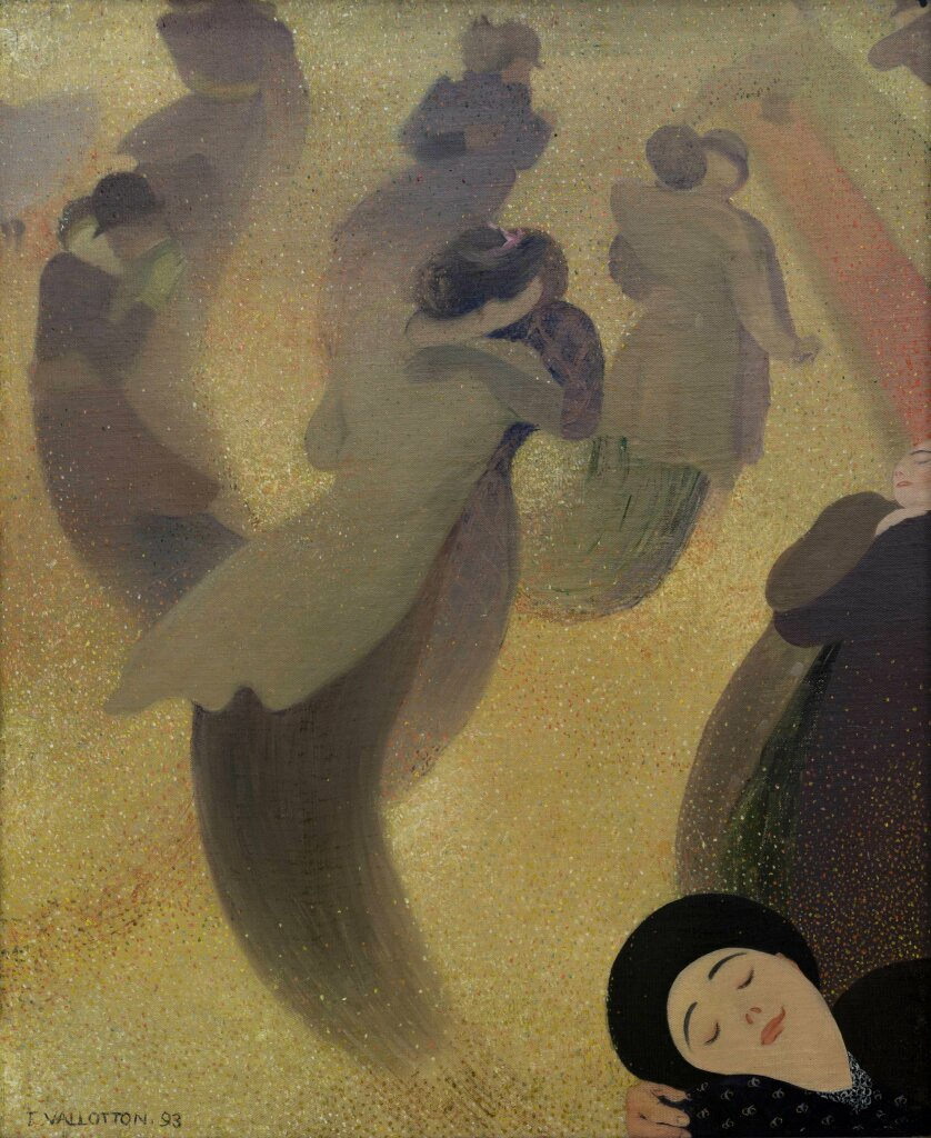 Félix Vallotton La Valse, 1893