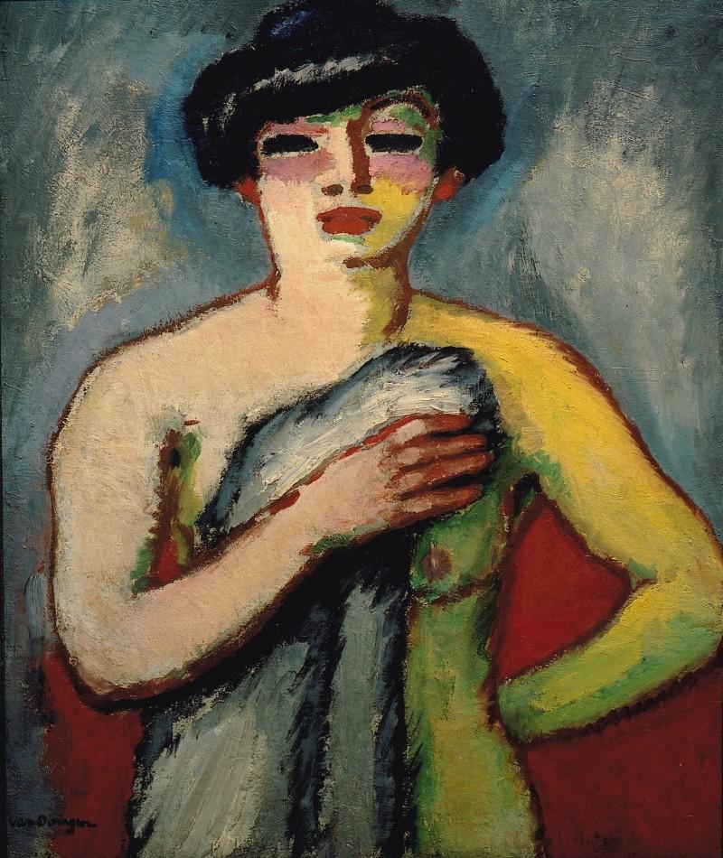 Van-Dongen, Portrait de Fernande