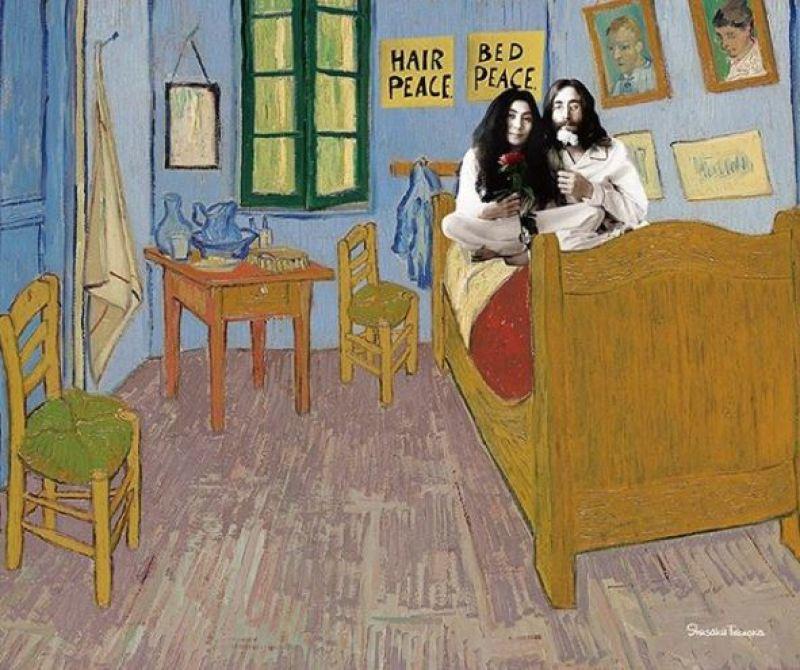 Van Gogh - John Lennon et Yoko Ono