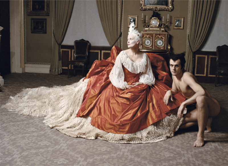 Vivienne Westwood, Londres, Musée de la Wallace Collection, Septembre 1994