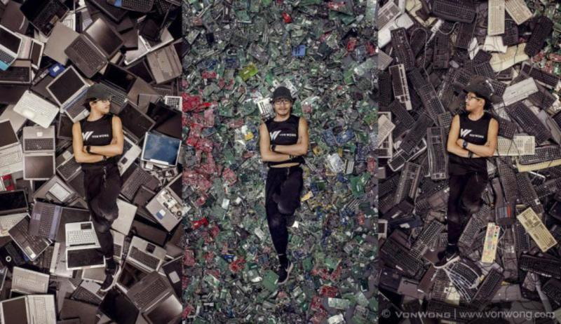 Art déchets informatiques