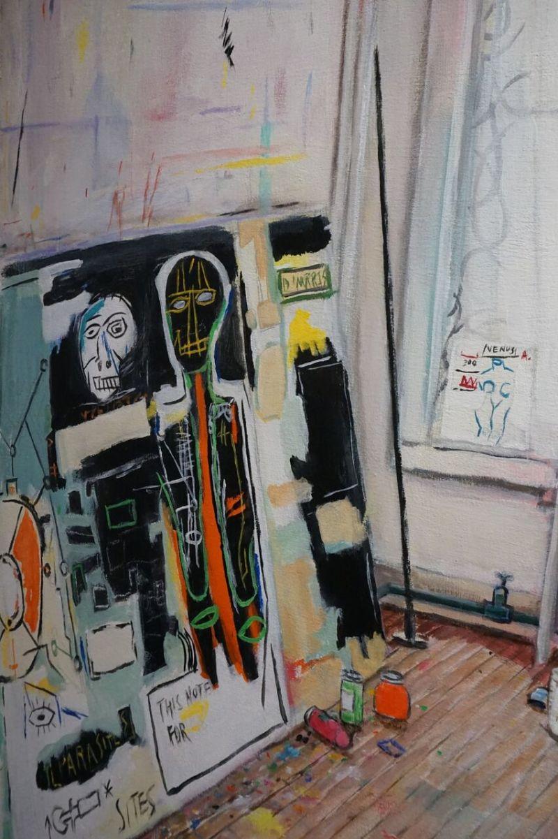 Vue de l'exposition Ateliers à la loupe au Musée en Herbe