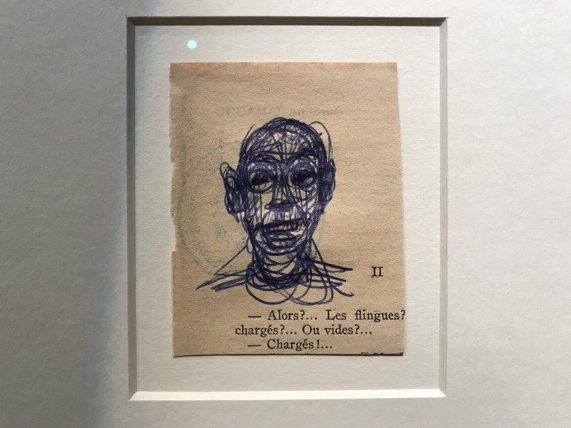 Vue de l'exposition La Collection Bic - Cenquatre Paris (18)