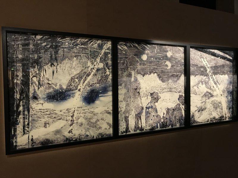 Vue de l'exposition La Collection Bic - Cenquatre Paris (31)
