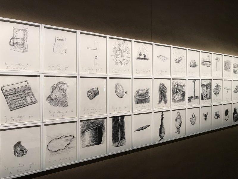 Vue de l'exposition La Collection Bic - Cenquatre Paris (37)
