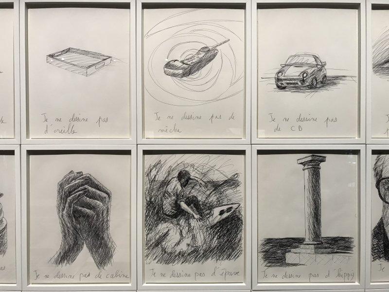 Vue de l'exposition La Collection Bic - Cenquatre Paris (38)