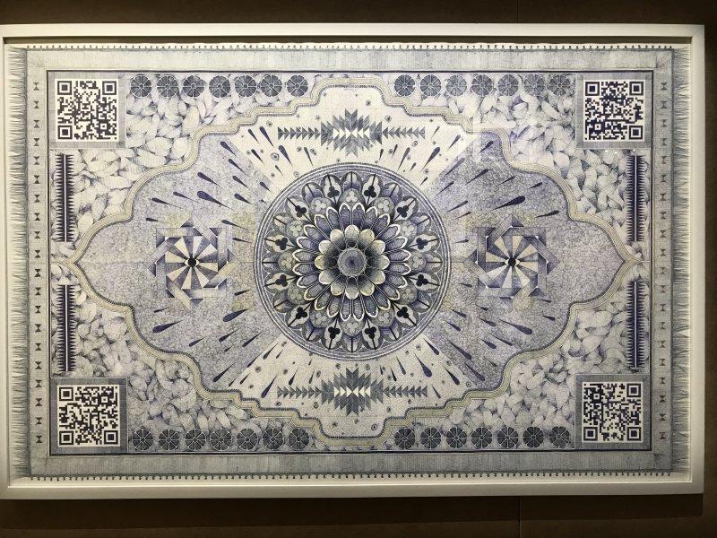Vue de l'exposition La Collection Bic - Cenquatre Paris (44)