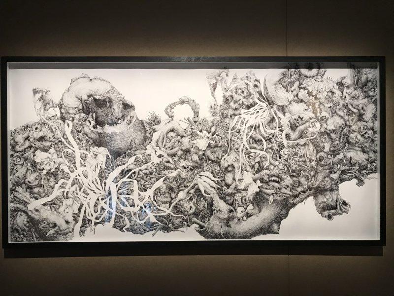 Vue de l'exposition La Collection Bic - Cenquatre Paris (46)