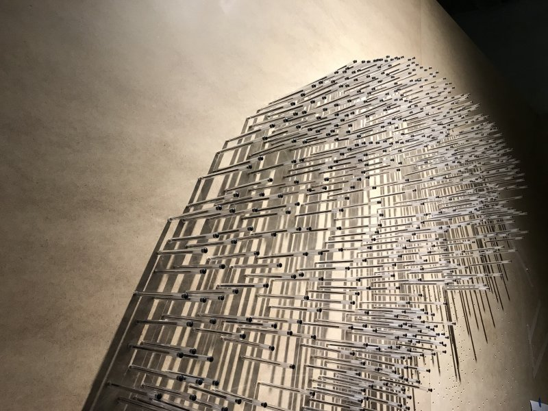 Vue de l'exposition La Collection Bic - Cenquatre Paris (50)