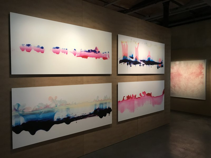 Vue de l'exposition La Collection Bic - Cenquatre Paris (59)