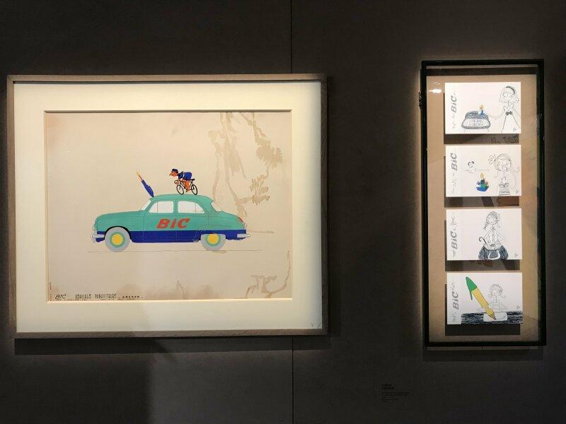 Vue de l'exposition La Collection Bic - Cenquatre Paris (6)
