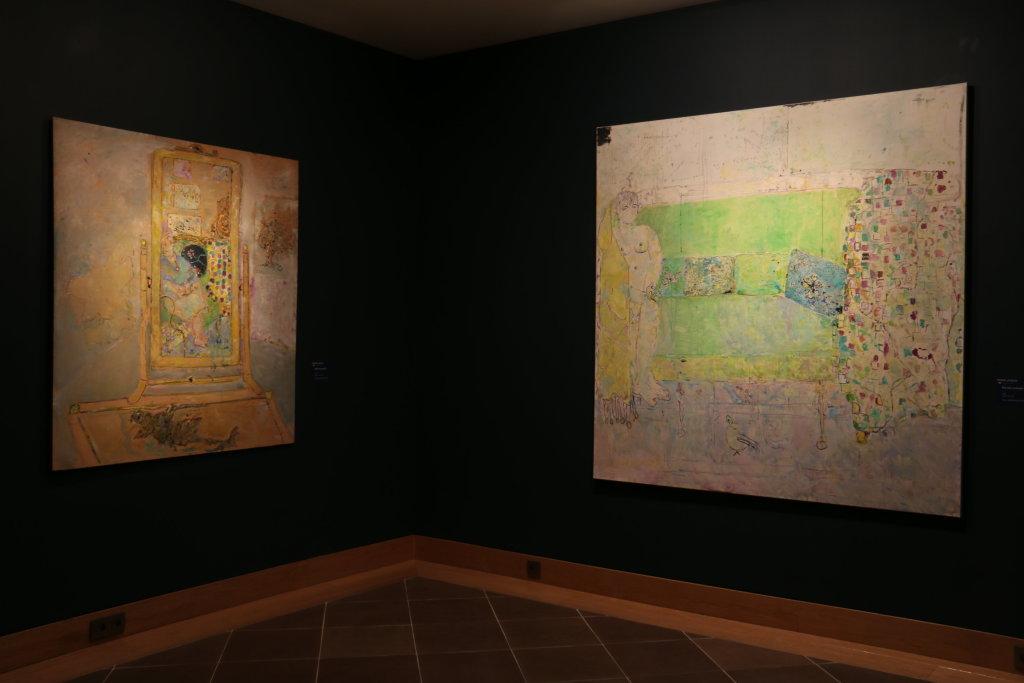 Vue de l'exposition Pierre Lesieur - Intérieurs - Musée Bonnard, Le Cannet (1)