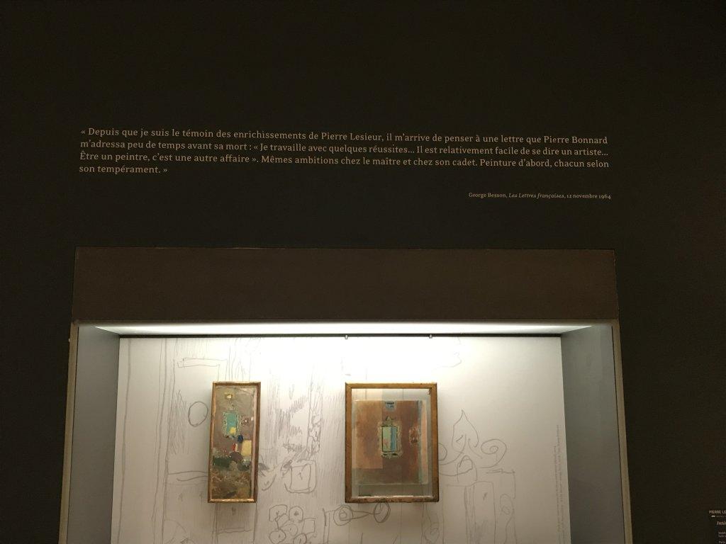 Vue de l'exposition Pierre Lesieur - Intérieurs - Musée Bonnard, Le Cannet (10)