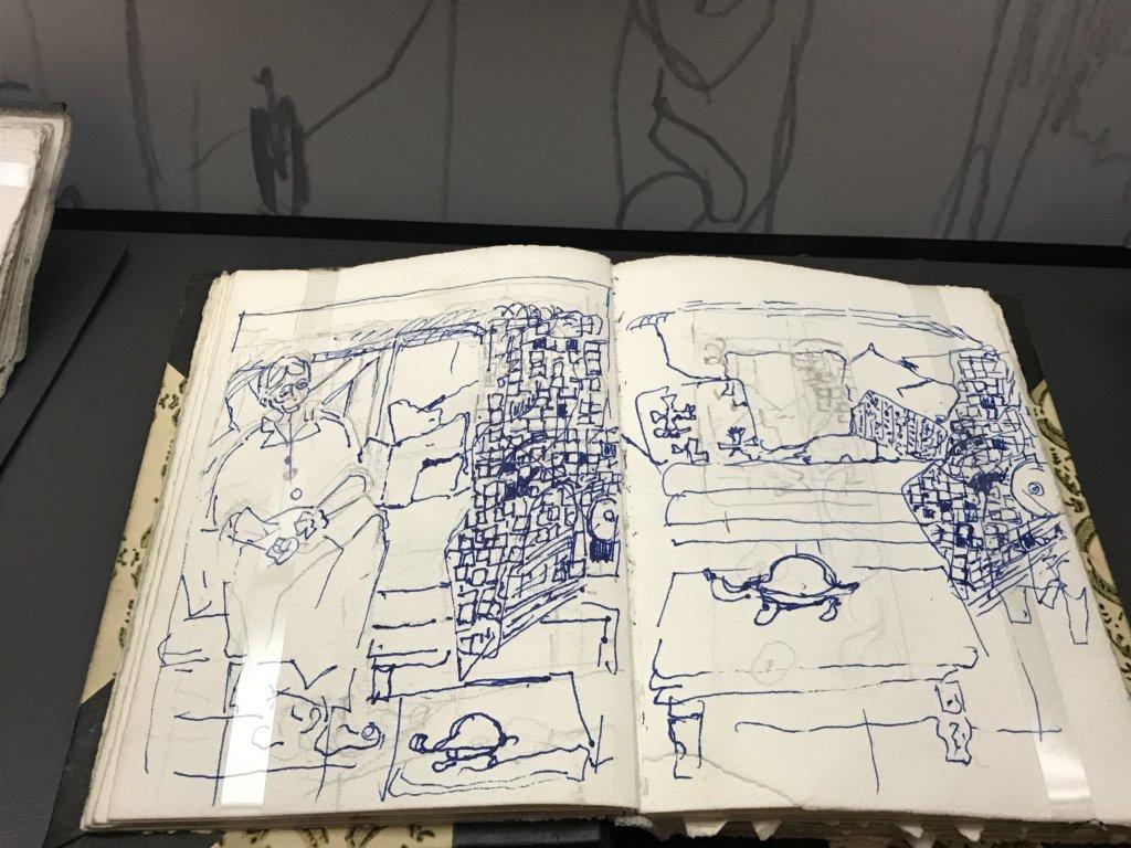 Vue de l'exposition Pierre Lesieur - Intérieurs - Musée Bonnard, Le Cannet (11)