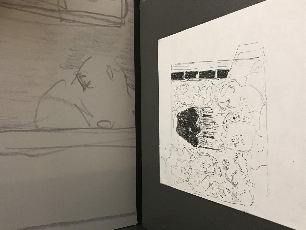 Vue de l'exposition Pierre Lesieur - Intérieurs - Musée Bonnard, Le Cannet (12)