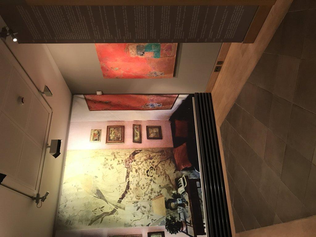 Vue de l'exposition Pierre Lesieur - Intérieurs - Musée Bonnard, Le Cannet (15)