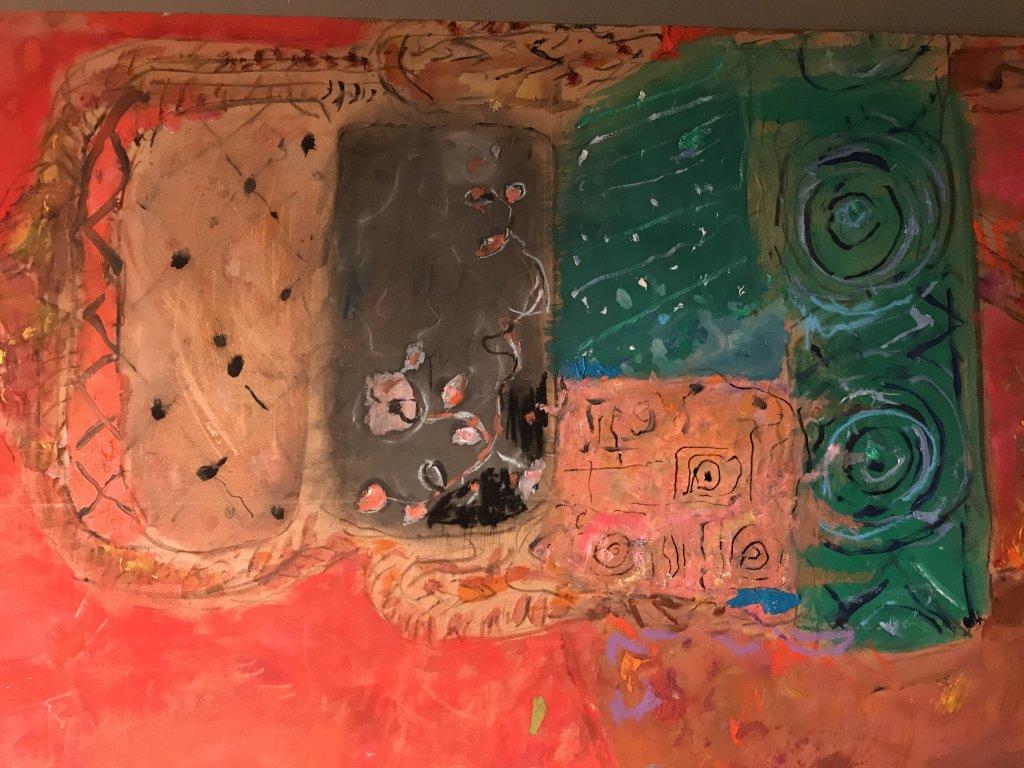 Vue de l'exposition Pierre Lesieur - Intérieurs - Musée Bonnard, Le Cannet (17)