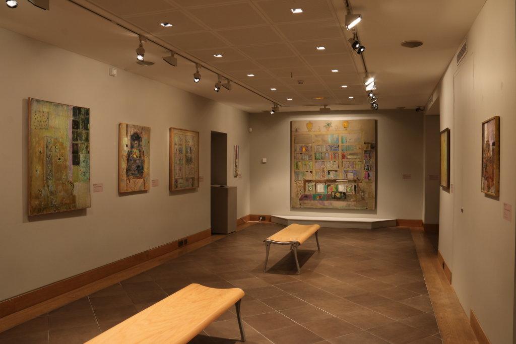 Vue de l'exposition Pierre Lesieur - Intérieurs - Musée Bonnard, Le Cannet (23)